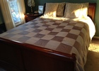 Queen Sleigh Bed, comes with one night chest