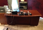 Executive Desk and Leather Chair
