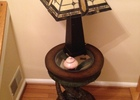 Foyer - Table and Lamp